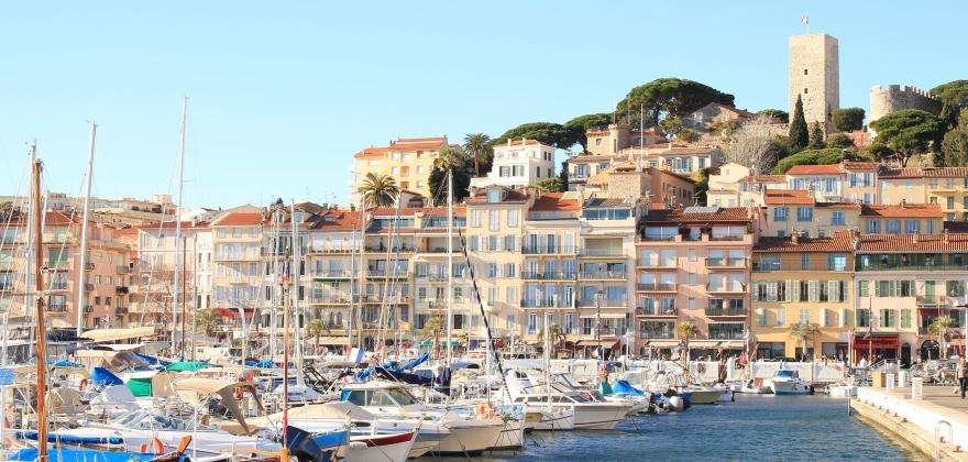 Le Suquet et le vieux-port