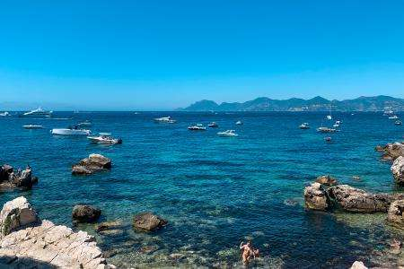 Visit the Lérins Islands during your stay at the Hotel des Orangers Cannes