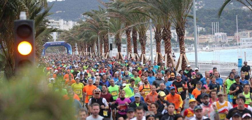 Marathon der Alpes-Maritimes Nizza-Cannes